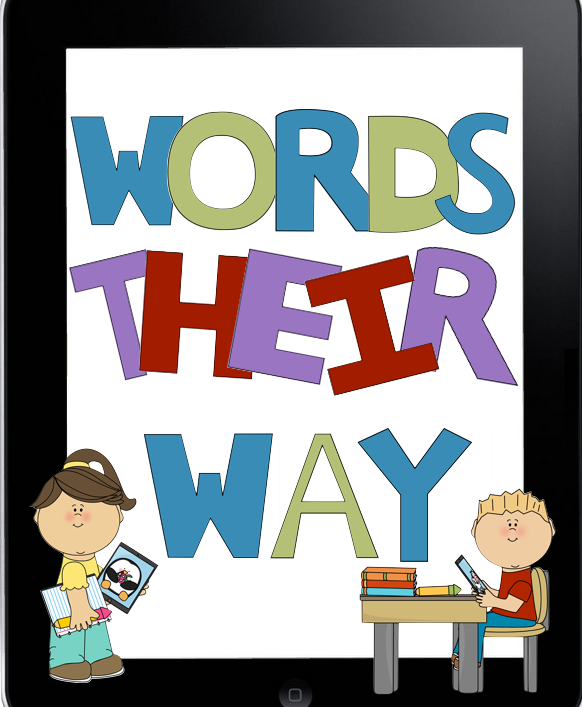 Words Their Way Clipart.