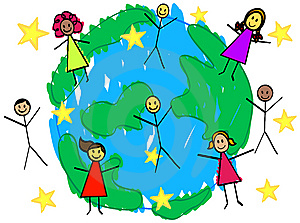 Picture of the world clipart image #6625.