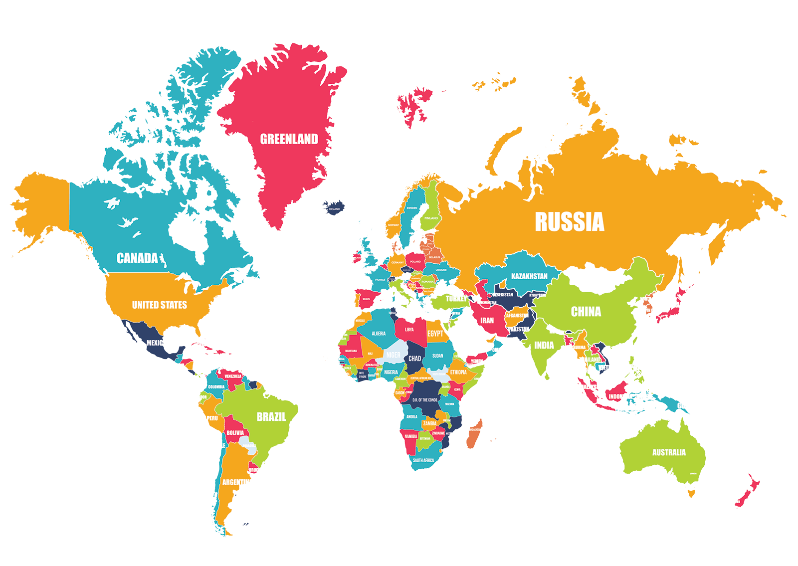Map PNG, World Map Clipart Free Download.