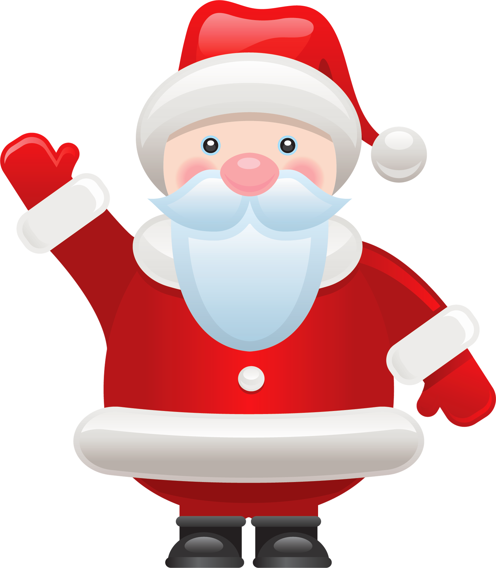 Year Without Santa Characters Clipart & #158471.