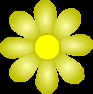 Yellow Flower Clip Art at Clker.com.