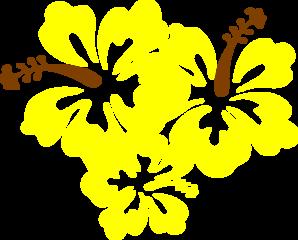 Hibiscus Yellow Flower Clip Art at Clker.com.
