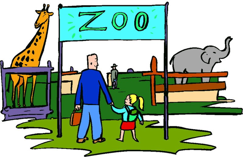 At the zoo clipart » Clipart Portal.