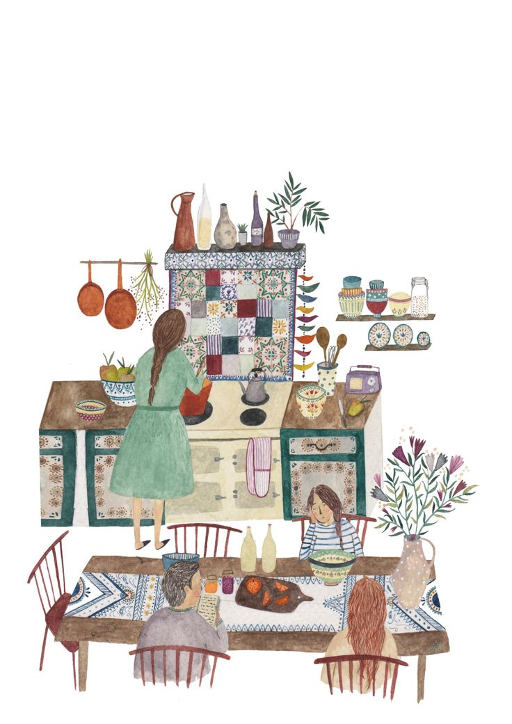 1000+ images about La cuisine illustrée.