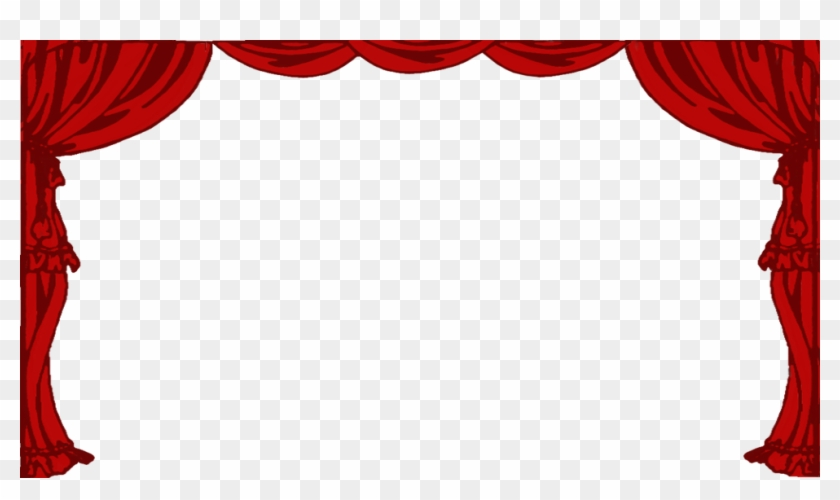 Stage Curtains Png Clipart By Clipartcotttage.