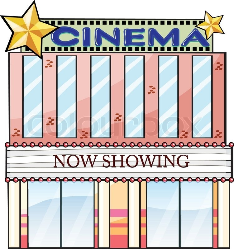 Movie theater building clipart 8 » Clipart Station.