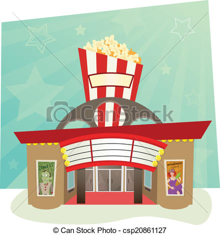 Movie theater building clipart 9 » Clipart Station.
