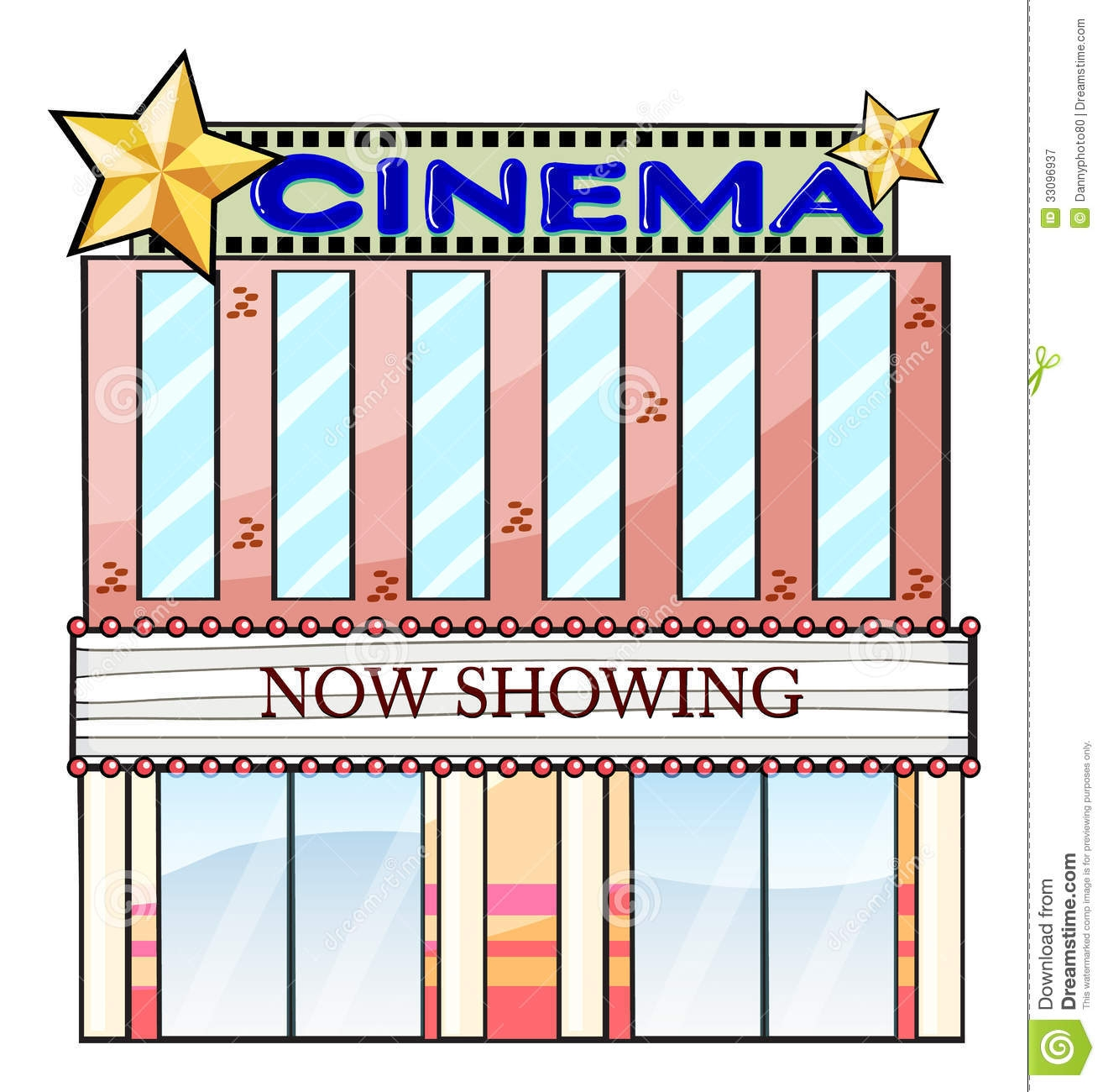 Movie Theater Building Clipart Clipart Panda Free Clipart.