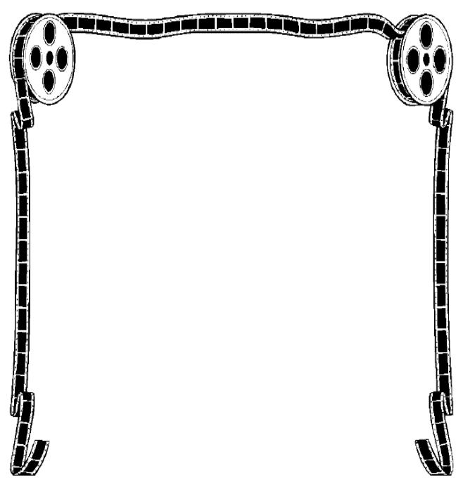 Free Movies Borders Cliparts, Download Free Clip Art, Free.