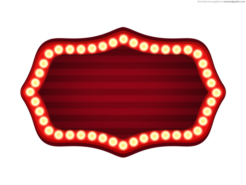 Movie theater clipart borders.