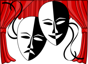 Theater Clip Art Borders.