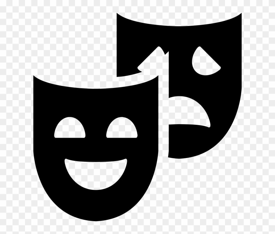 Theatre Clipart Theatre Mask Clip Art.