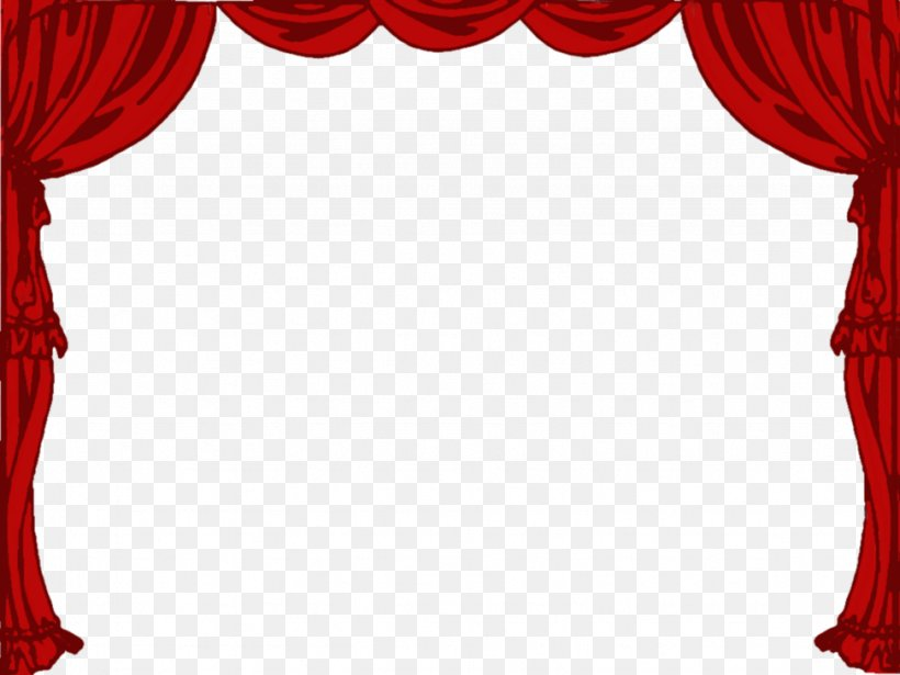 Light Theater Drapes And Stage Curtains Clip Art, PNG.