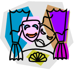 Theatre clipart theater gang clip art image.