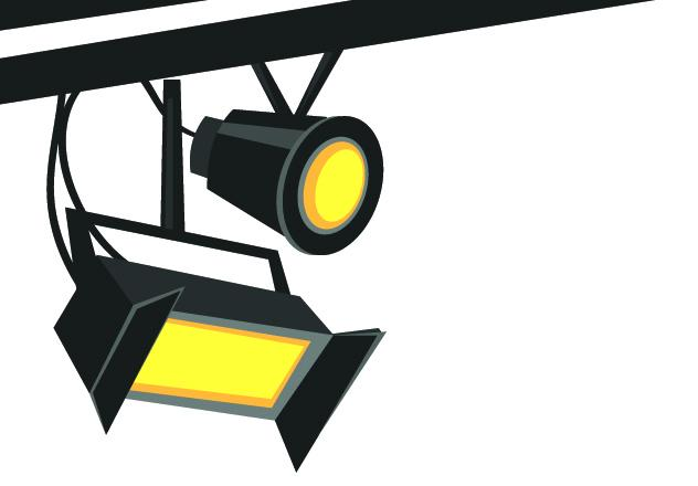 20s movie theater lights clipart images gallery for Free.