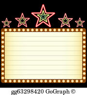 theater marquee clipart #5