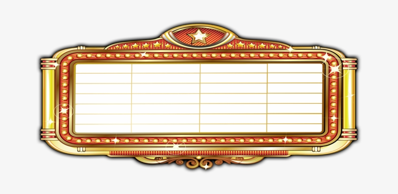 Image Freeuse Marquee Clipart Classic Movie.