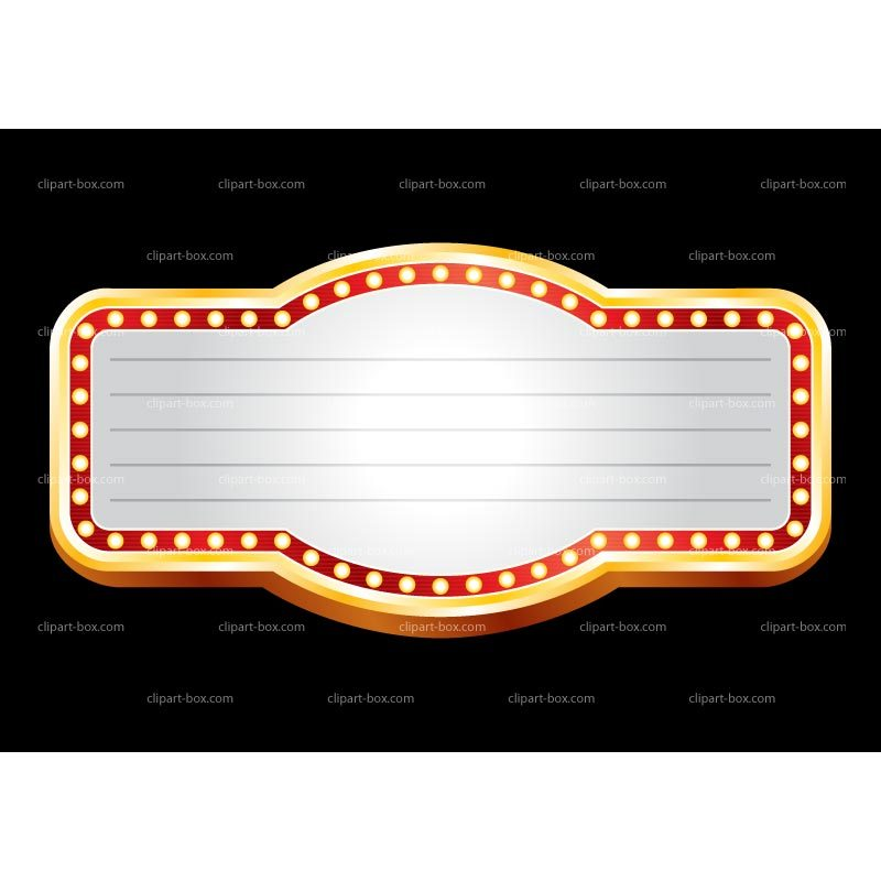 Theater marquee clipart 1 » Clipart Portal.