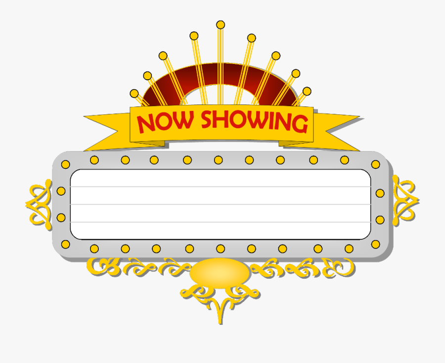 Cinema Now Showing Png , Free Transparent Clipart.