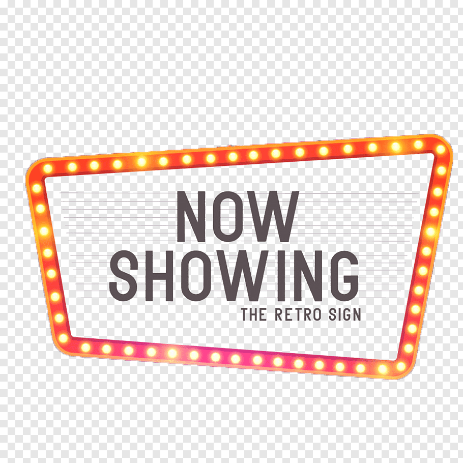 Now Showing The Retro Sign screenshot, Cinema Theatre Neon.