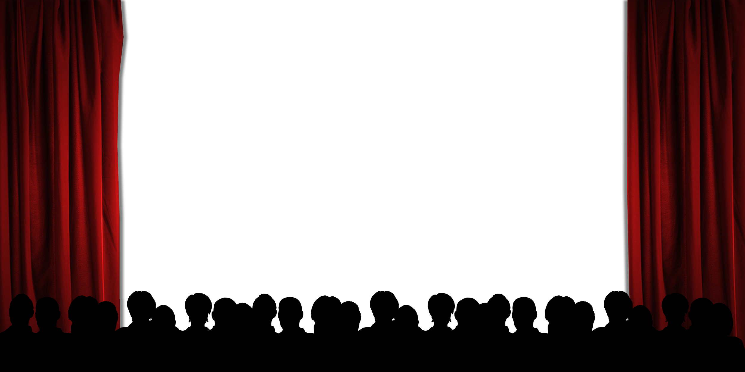 Movie Theater Png Picture Black And Whit #55499.