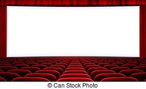 Movie Theatre Screen Clipart.