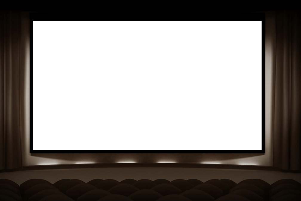 Movie Theater Screen Png.