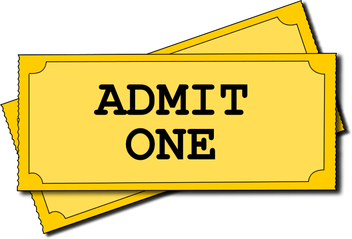 Theater Ticket Clipart.