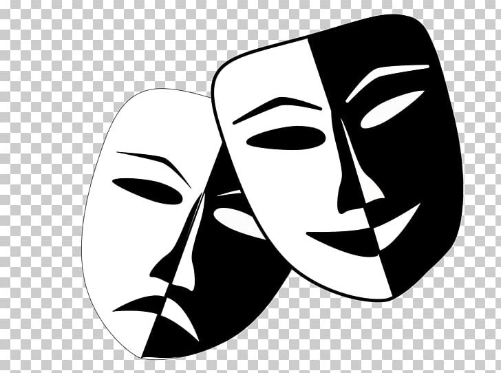 Theatre Cinema PNG, Clipart, Art, Black, Black And White.