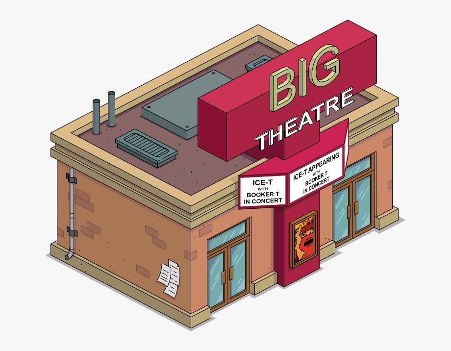 Theatre Clipart Theater Building.
