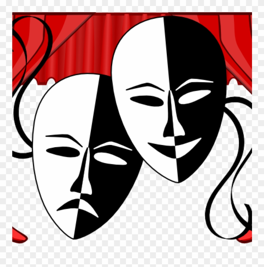 Theatre Clipart Mask.