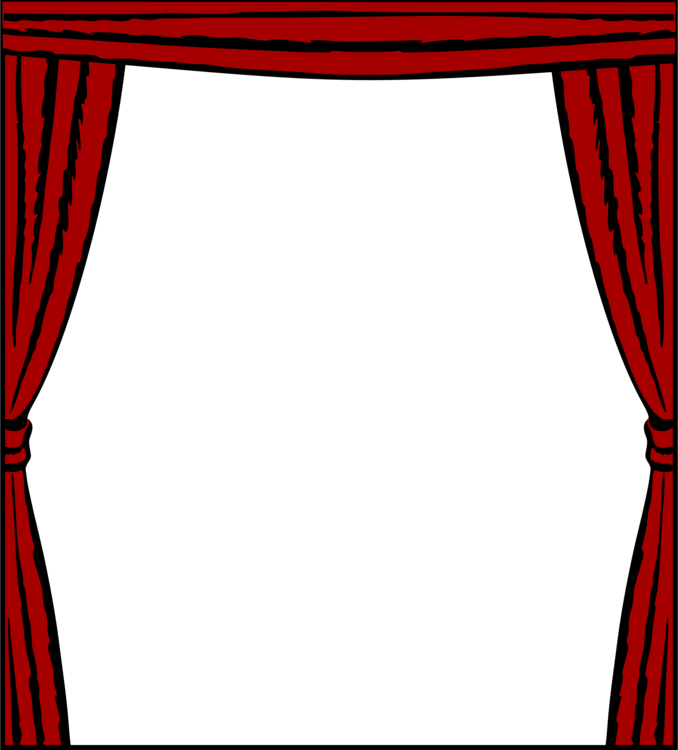 Stage Curtains Drawing at PaintingValley.com.