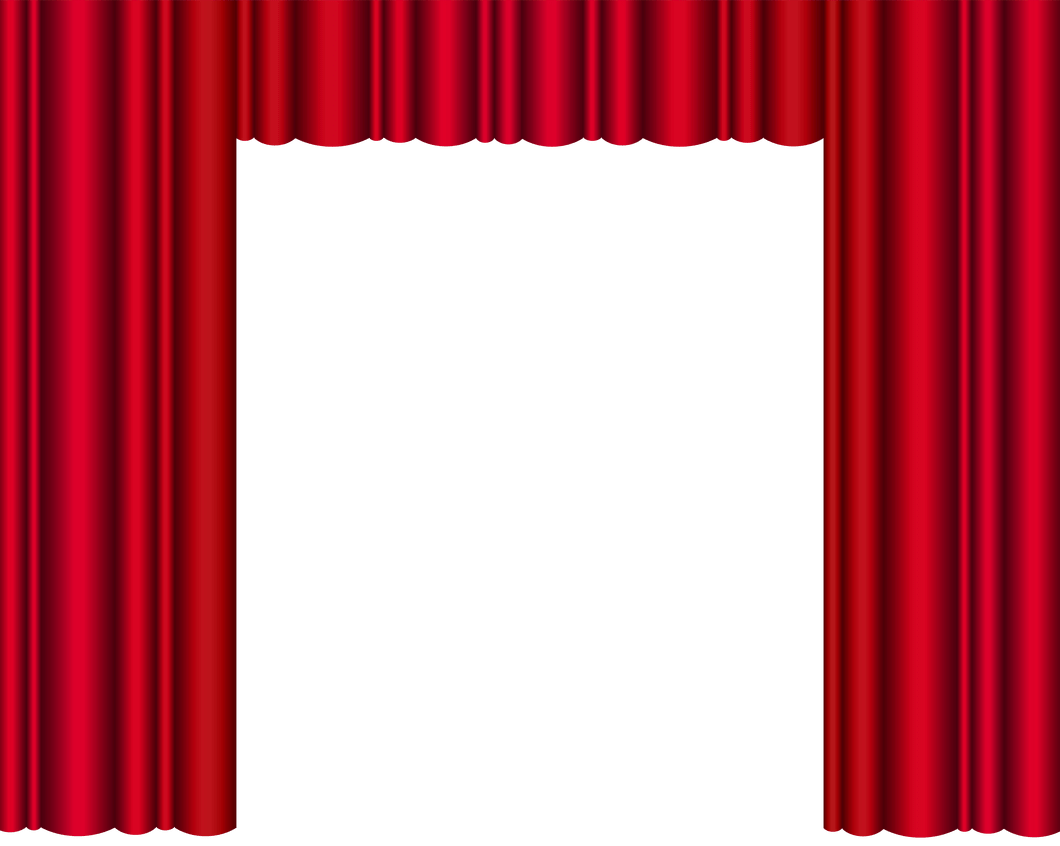 Theatre Curtains Png.
