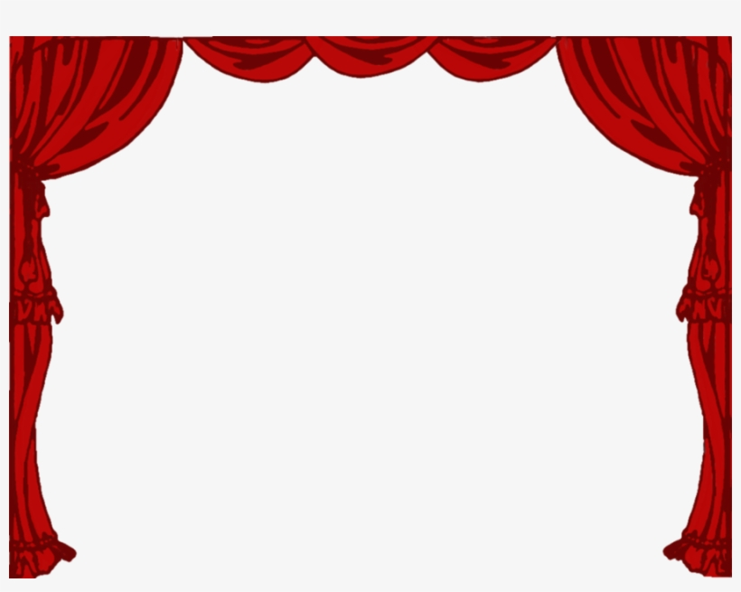 Stage Curtains Png Gopelling.