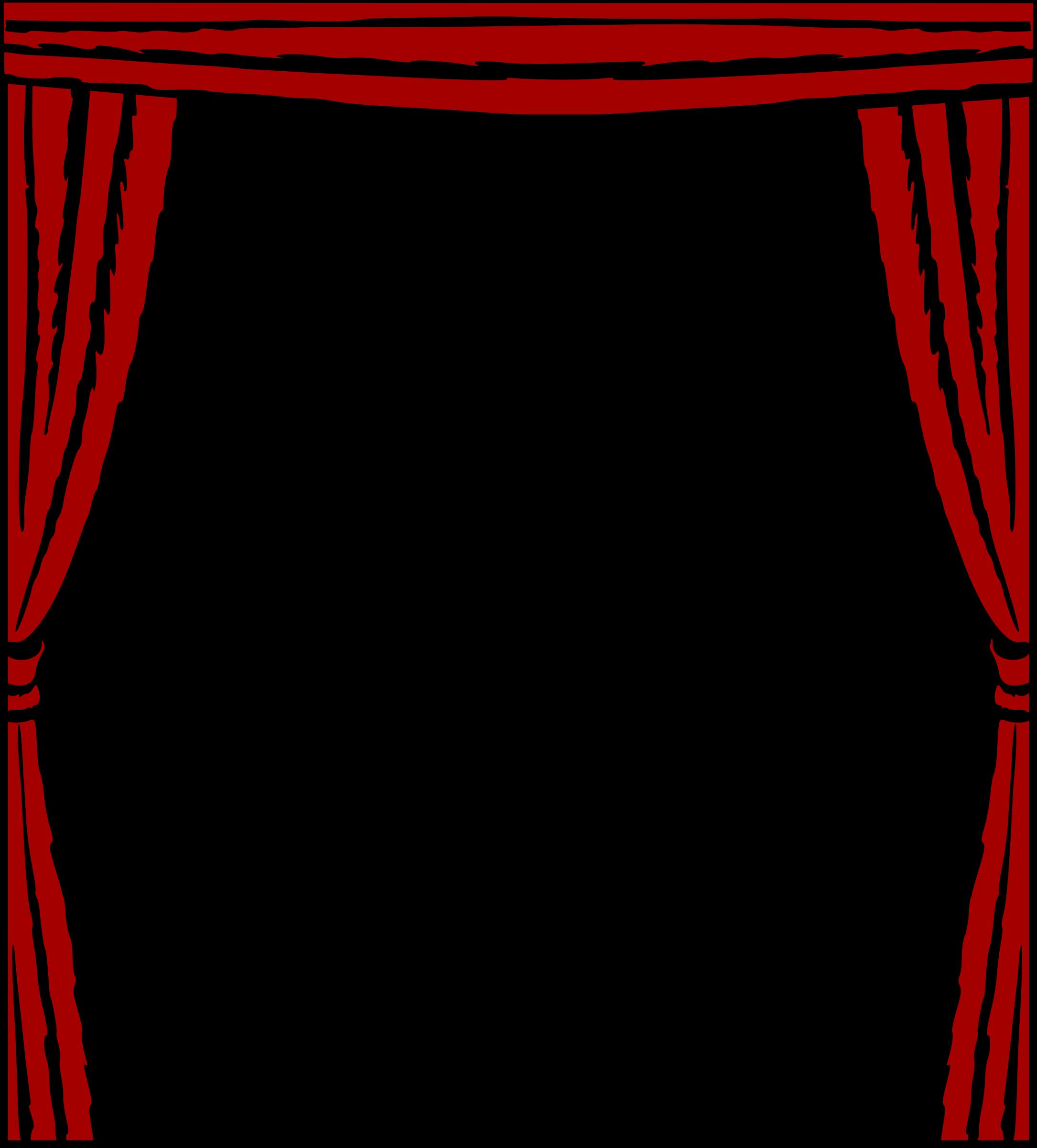 Curtains clipart clip art, Curtains clip art Transparent.