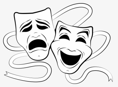 Theatre Clipart Theater Faces.