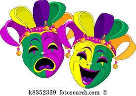 Theatre mask Clipart EPS Images. 1,271 theatre mask clip art.