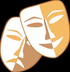 Theatre Masks Clip Art at Clker.com.