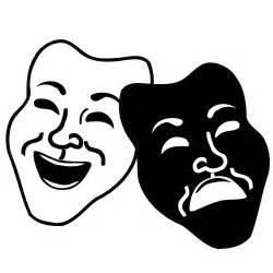 Similiar Theater Drama Masks Clip Art Keywords.
