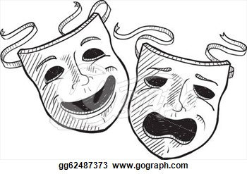 Drama Mask Clip Art & Drama Mask Clip Art Clip Art Images.