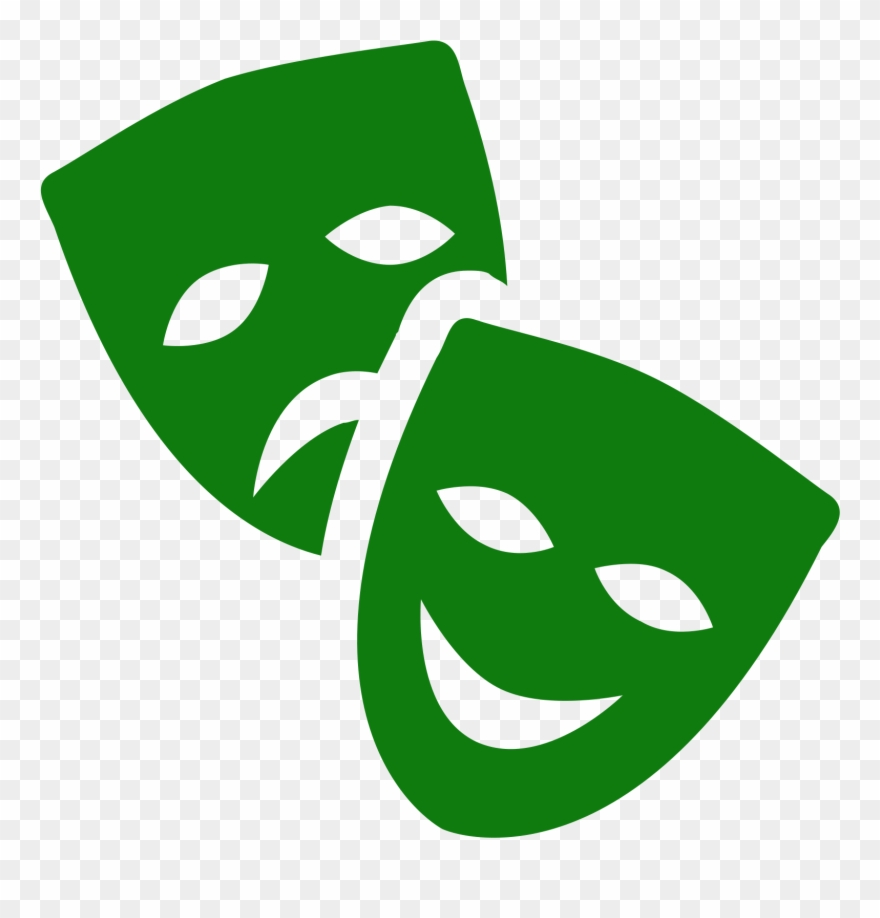 Theatre Mask Icon.