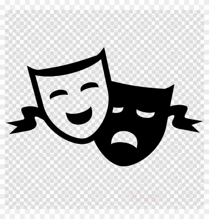 Download Drama Masks No Background Clipart Theatre.
