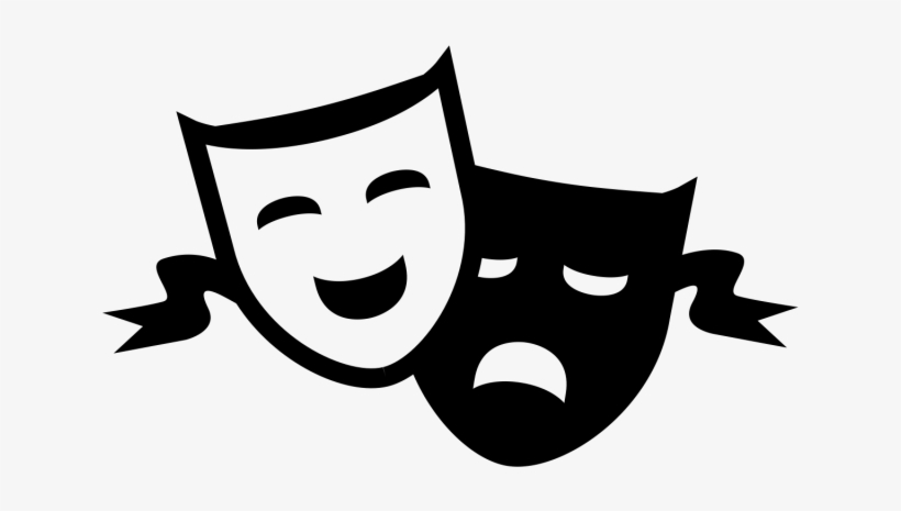 Theatre Clipart Comedy Tragedy.