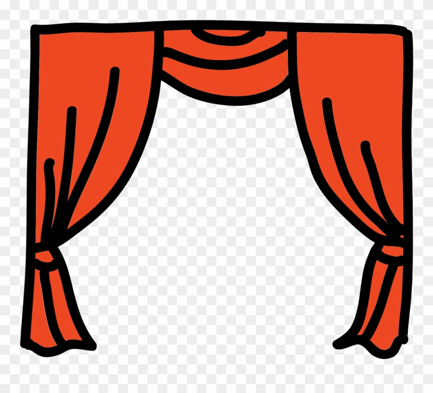 Theater Curtains Png.