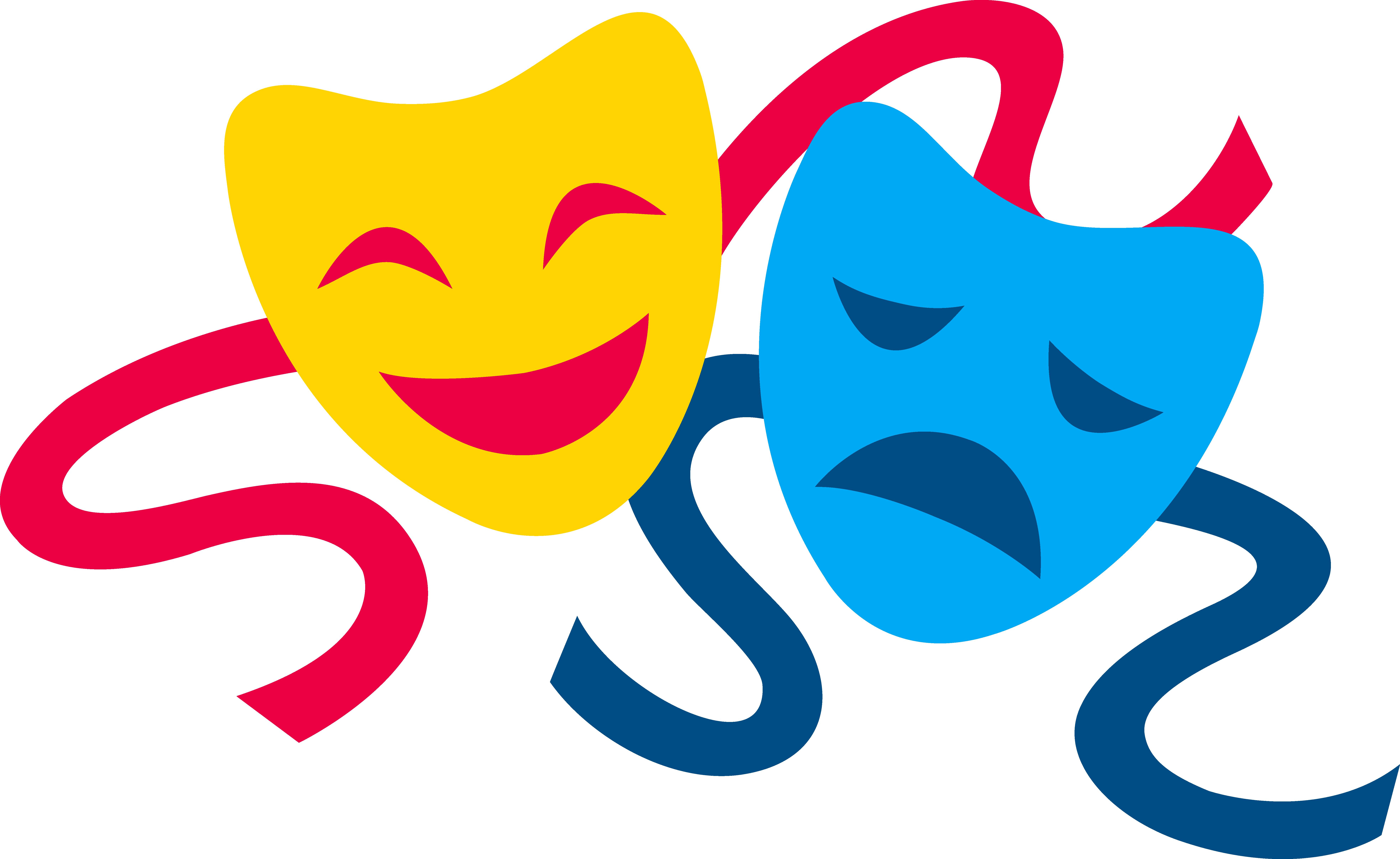 Drama Masks.