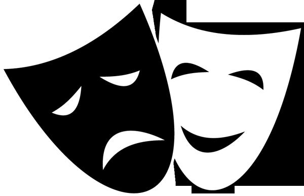 9+ Theatre Mask Clipart.