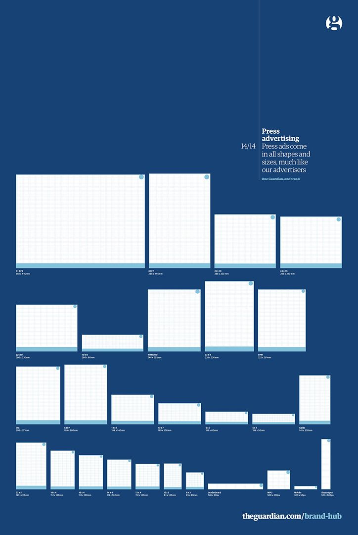 The Guardian brand guidelines #grafica #brand #editorial.