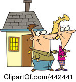 Their House Clipart.