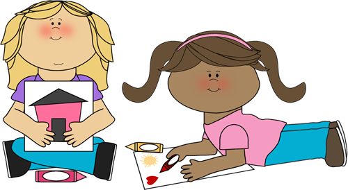 Student Coloring Clipart.