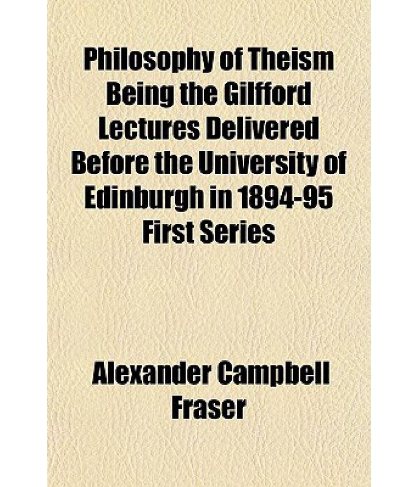 Theism philosophy.